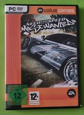Need For Speed Most Wanted, PC Game DVD-Box, EA Value Games