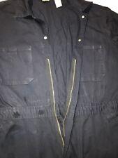C.E. Schmidt Workwear-Mens Coveralls-Sz.XL/Short-Cotton/Navy Blue