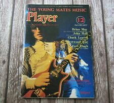 Brian May - Queen : Player - Vintage 1977 Japanese Guitar Magazine Japan