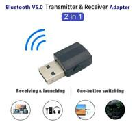BT600 2 in 1 Wireless Bluetooth 5.0 Music Receiver Transmitter Adapter Dongle