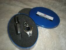 DENACCI WATCH AND POCKETKNIFE SET IN TIN