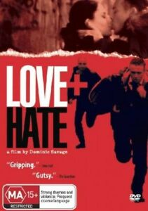 Love + Hate - Tom Hudson - New & Sealed Region 4 DVD - FREE POST
