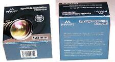 55mm 3P Hi Def Pro Lens Filter Kit UV PL FLD Japan MC Merkury Round 55 mm