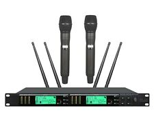 Wireless Microphone System for Shure UR4D Dual Diversity UHF Wireless Microphone