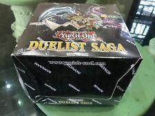 YuGiOh Duelist Saga DUSA 5x Booster Box Case Pack Set New Konami Sealed