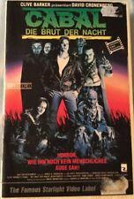 VHS Cabal - Die Brut der Nacht (1990) FSK 18 Horror nach Clive Barker