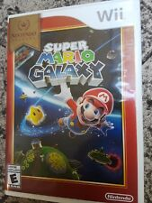Super Mario Galaxy Nintendo Selects Wii Game