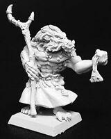 1 x OMBUR SKULLTOOTH SHAMAN - WARLORD REAPER miniature rpg jdr d&d orc 14079