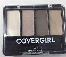 CoverGirl Eye Enhancers Quad Eyeshadow Natural Nudes 280 Neutrals Sealed New