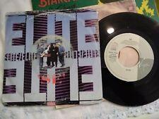 """7"""" ELITE SEMBRA VUOTA LA CITTA' SE SANREMO '89 COPERTINA GOOD+ VINILE EX"""
