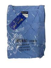 B.I.C.Medical Uniforms Size 2Xl Blue Nursing Scrub Top Piece Only Unisex New