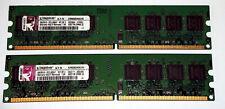 2 GB DDR2-RAM (2 x 1 GB) PC2-6400U  'Kingston KVR800D2N5K2/2G' 99..5316