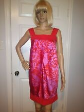 NWOT Diane Von Furstenberg Payne Sheath dress pink and  orange size 4