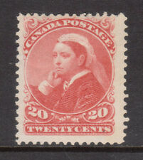 Canada #46 Mint Never hinged With Natural Band Of Gum Missing *With Certificate*