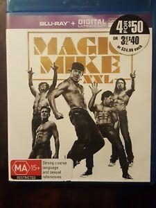 MAGIC MIKE XXL   ( Blu Ray+ Digital) CHANNING TATUM   AUST REGION  VGC