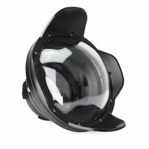 """Seafrogs 6"""" Dry Dome Port Wide Angle Lens for A7 II A7R II GH5 GH5S Housing Case"""