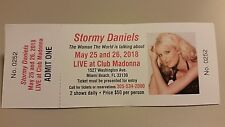 """""""Stormy Daniels LIVE at Club Madonna"""" tickets - Collector's Keepsake"""