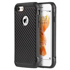 Apple iPhone 7 Tough Hybrid Case (Black)