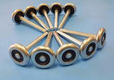 New Garage Door Rollers / Wheels - STEEL 10 Ball Bearing Heavy Duty - 10 PAC