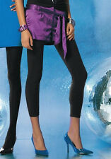 NEU SEXY ELEGANT! MUSTHAVE SATIN-SHORTS HOTPANTS GR.34 MELROSE lila *209317
