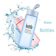 Random Color Plastic Scrub Water Bottles Drinking Sport Leak Proof Water Cup