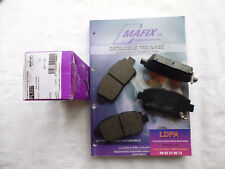 Mafix 4 plaquettes de frein avant TOYOTA Prius (LDPA44)