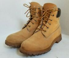 Vintage TIMBERLAND BOOTS (10361) Women's Sz 8.5 Wheat Color Nubuck Leather USA