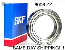 New SKF 6006-2Z Deep Groove Ball Bearings 30x55x13mm 6006 ZZ SAME DAY SHIPPING !
