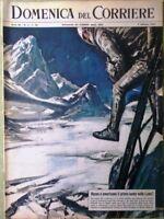 La Domenica del Corriere 9 Febbraio 1964 Luna Usa Urss Mayerling Fantasma Mec