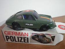 REEL German Polizei POLIZIA Porshe 911 S Auto a frizione RARA 1:24 Made in ITALY