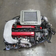 JDM Nissan SR20DET Blue Bird Engine and Transmission SR20 G20 Sentra Turbo