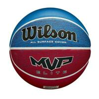 Wilson MVP Elite Basketball - Blue Red