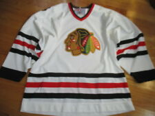 Vintage CCM CHICAGO BLACKHAWKS (Man's LG) Hockey Jersey