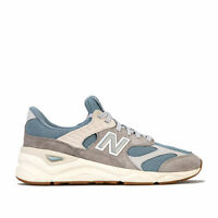 Mens New Balance Msx90 Running Trainers In Taupe Blue