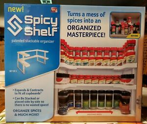 Spicy Shelf Patented Stackable Organizer