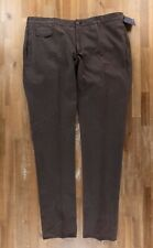 INCOTEX brown cotton chino trousers authentic - Size 44 US / 60 EU - NWT