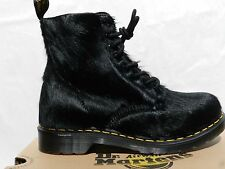 Dr Martens 1460 Peloso Horsey Chaussures Femme 41 Bottes 21609001 UK7 Doc Neuf