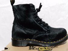 Dr Martens 1460 Peloso Horsey Chaussures Femme 42 Bottes 21609001 UK8 Doc Neuf