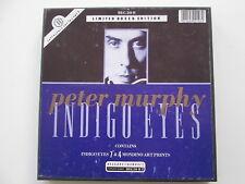 """PETER MURPHY INDIGO EYES BAUHAUS 7"""" BOXSET UK PRESSING REF BEG210B WITH INSERT"""