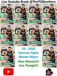 Los Angeles Lakers Break #925 10x 2020-21 Donruss Optic Blaster Box NBA