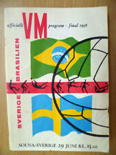 Away Teams S-Z World Cup Written - on Football Programmes