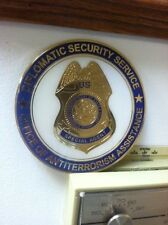 "Diplomatic Security medallions 4"" diameter"