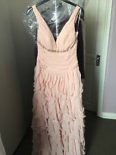 anoushka g Apricot Long Evening Dresss size 8