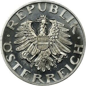 AUSTRIA 2 Schilling 1947 GEM PROOF! Rare!