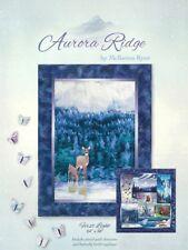 First Light, Aurora Ridge Quilt Series, McKenna Ryan, Block 5 & Butterfly Border