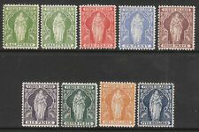 BRITISH VIRGIN ISLANDS 1899 VICTORIA MINT STAMP SET + 1/2d SHADE