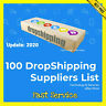 100 DropShipping Suppliers List ✅ $0.99 ✅ Drop Shipping ✅ UPDATE 2020