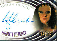 FARSCAPE SEASON FOUR AUTOGRAPH CARD A28 VELLA