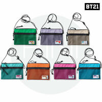 BTS BT21 Official Authentic Goods Fennec Mesh Mini Cross Bag + Tracking #