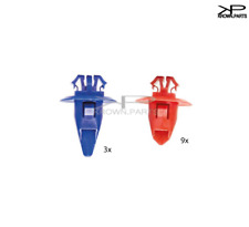Toyota Hilux Sr5 Blue Red Rear Wheel Moulding Trim Arch Flare Strip Clips